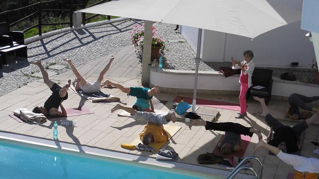 Hormon-Yoga Lehrer Ausbildung, Sardinen mit Dinah Rodriges, Mai 2017